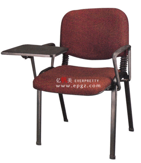 china stacking plastic chair with writing pad lecture chair with