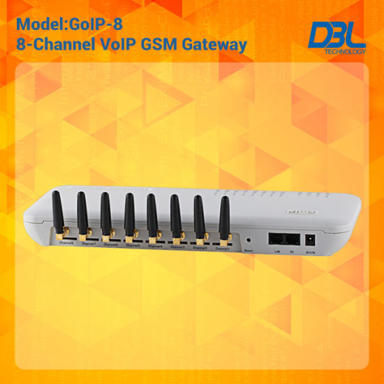 8 Channels GSM Gateway/VoIP Gateway With 8 GSM Quad Band pictures & photos