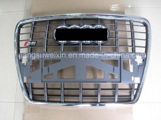 China Car Front Grill For Audi Gray S6 2005 2012 China Front