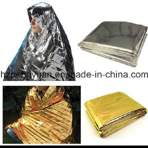 Foil Mylar Rescue Blanket Survival Light Reflect Warm Keeping pictures & photos