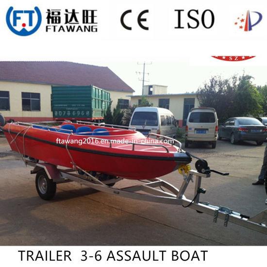Powder Coating Boat Trailer/Heavy Duty Galvanized Yacht Trailer