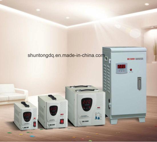SDR, Srv LED Relay Type Full Automatic AC Voltage Regulator