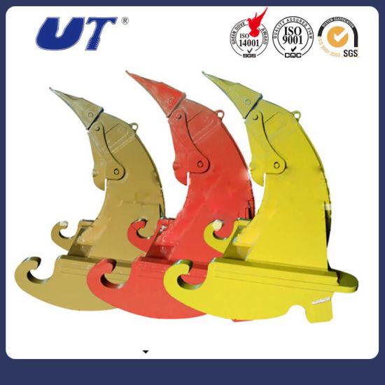 China Popular Mini Excavator Three Tooth Ripper Attachments Multi-Ripper  Bucket