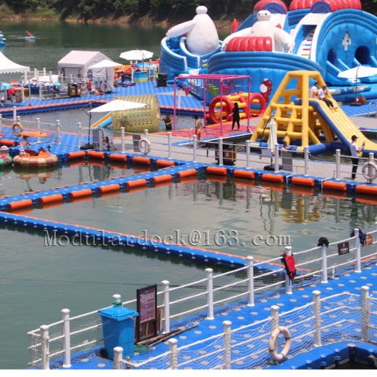 Floating Platform with Pontoon Cube in China for Hot Sale