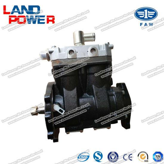 Original FAW Truck Parts Spare Parts Air Compressor