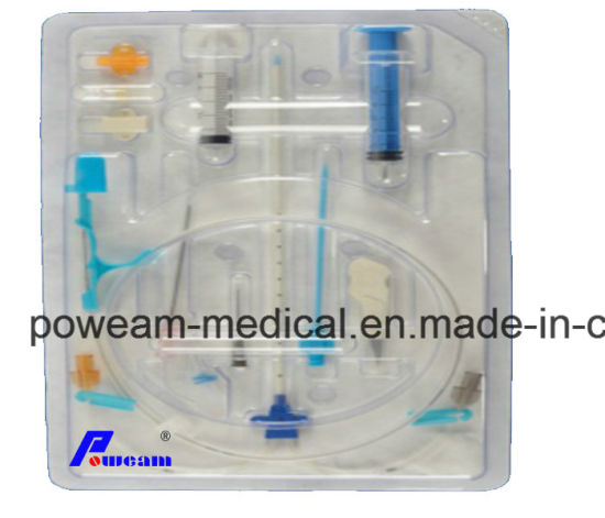 7fr 3 Triple Lumen Central Venous Catheter with ISO, Ce, FDA Approval pictures & photos