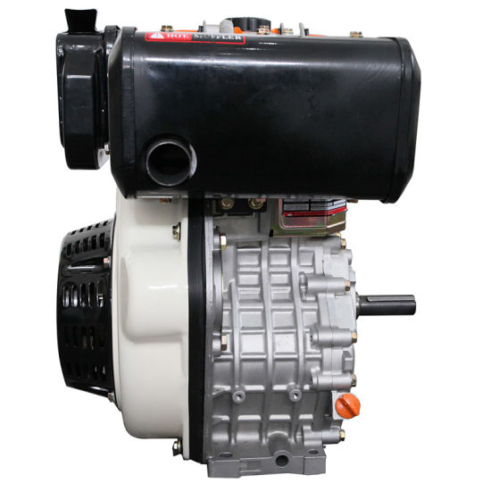 14HP/3600rpm Single Cylinder Air-Cooled Diesel Engine (Marine Manual Pulley Accepted) pictures & photos