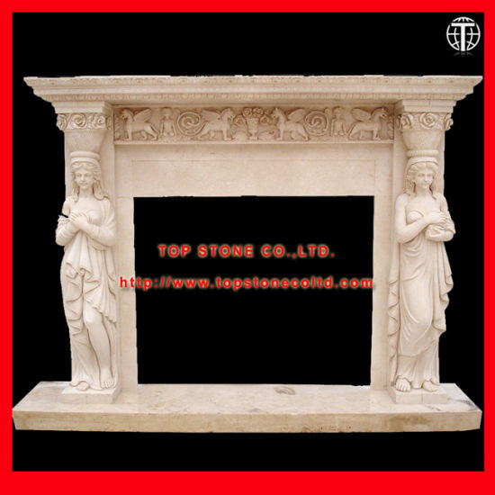 Electric Stone Granite Marble Fireplace Surround Fireplace Mantels with Stone  Carving for Fireplace Decoration 03972b7dd7