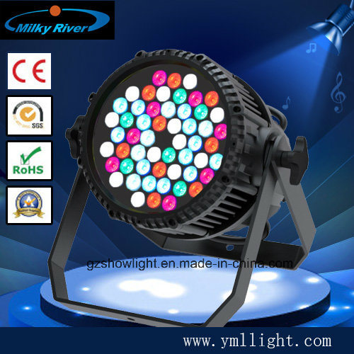 54PCS 3W LED PAR Waterproof Stage Lighting pictures & photos
