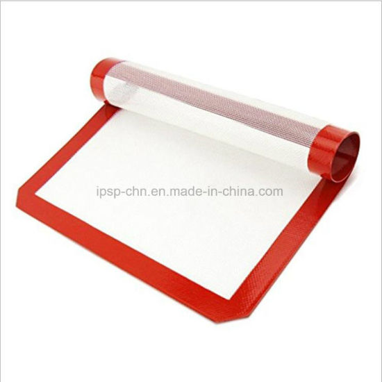Food Grade Silicone Fiberglass Reusable Baking Mat for Bread Pastry pictures & photos