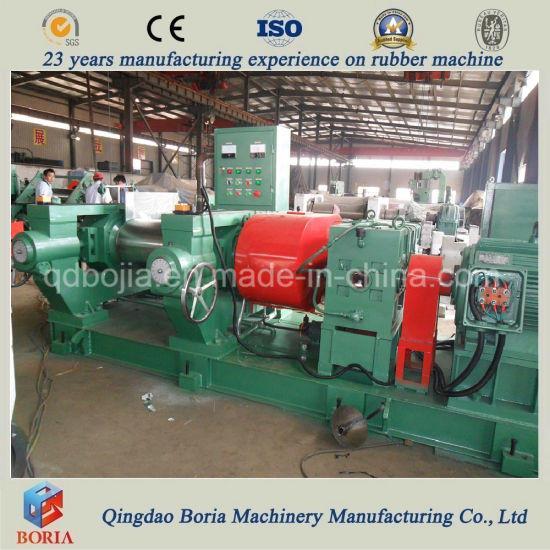 High Efficiency Two Roll Plastic Open Mixing Mill pictures & photos