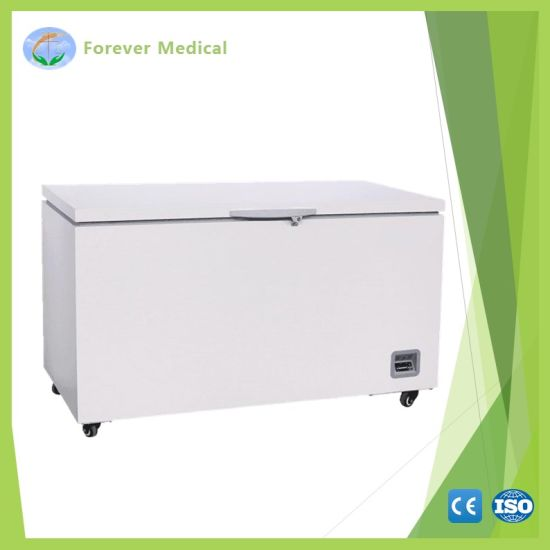 Ce -40 Degree 568L Blast Freezer Chest Deep Freezer Refrigerator