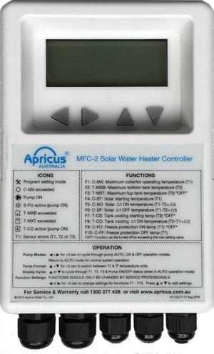 The Apricus Sentinel-Pro Delta-T Solar Controller
