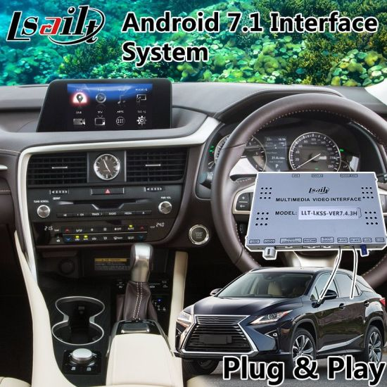 China Android 7 1 Auto Navigation Interface for Lexus Rx 200t 8 Inch