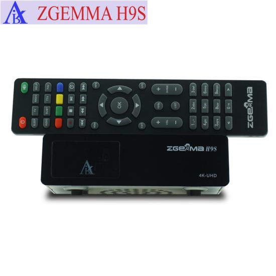 Cccam/Oscam Supported 4K UHD TV Box Zgemma H9s Linux OS Enigma2 DVB-S2X One  Tuner