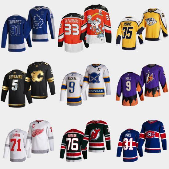 Wholesale Cheap 2021 Newest Season Arrival Hockey Jerseys Customized Team Shirts Sports Apparels