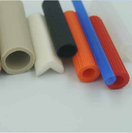 Food Grade Extruded Silicone Rubber Reinforced Hookah Hose