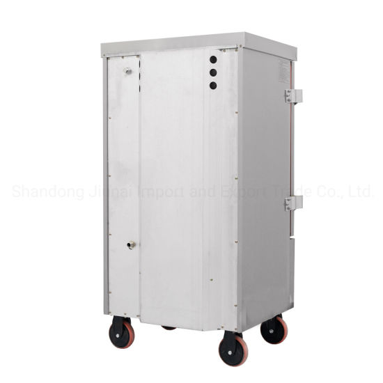 Double Door Commercial Gas Seafood Rice Noodles Roll Steamer Cabinet