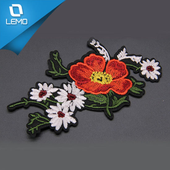 Embroidery Applique for Garment pictures & photos