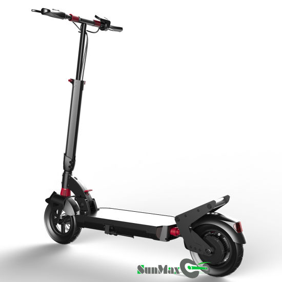 10 Inch Pneumatic Tire Electric Scooter for Adult pictures & photos