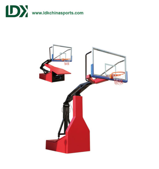 Portable Basket Ball Equipment Fiba Standard Spring Assisted Basketball Stand Hoop for Training pictures & photos