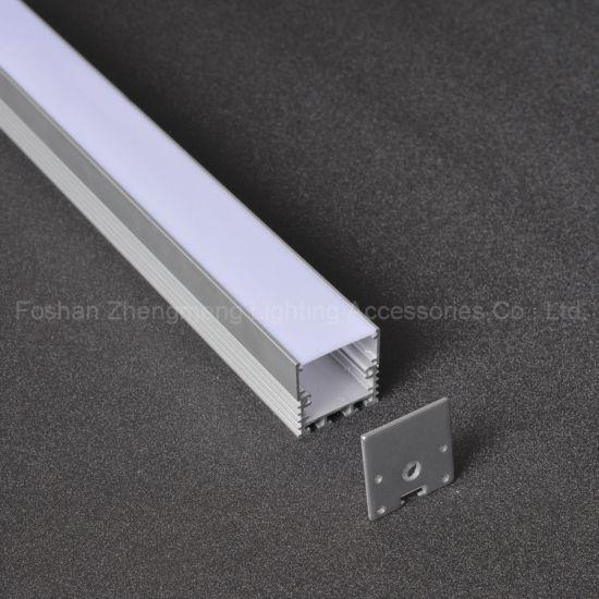 China 30mm led linear pendant light section parts aluminum profile 30mm led linear pendant light section parts aluminum profile and pc housing with hanging rope aloadofball Images