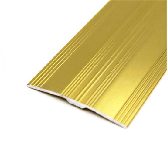 China Flexible Floor Transition Strips Aluminum T Shape Trim