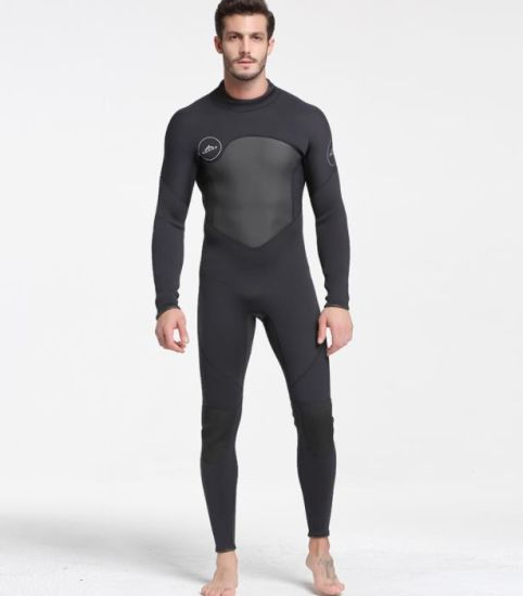 Hot Design Long Sleeve Diving Suit 3mm Neoprene Men Wetsuit pictures & photos
