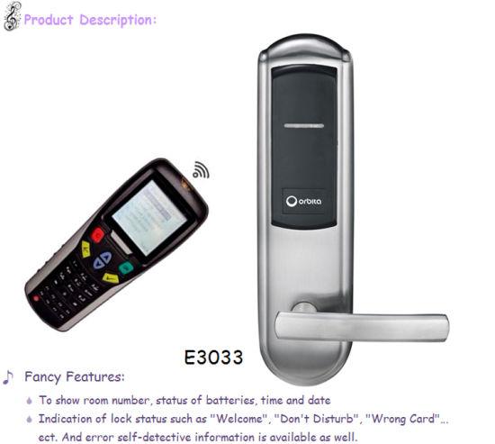 Hotel Lock System, Electric Lock 6V, Hotel Key Card Lock