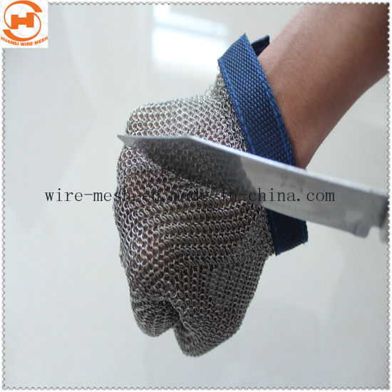 Chainmail Ring Mesh Gloves for Hand Protection