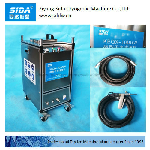 Sida Kbqx-10dgw Dry Ice Blast Cleaning Equipment for Engine Cleaning