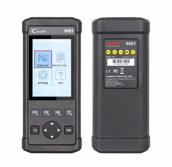 New Launch DIY Scanner Creader 9081 Cr9081 Full OBD2 Scanner+ABS+SRS+Oil+Epb+BMS+Sas+DPF pictures & photos