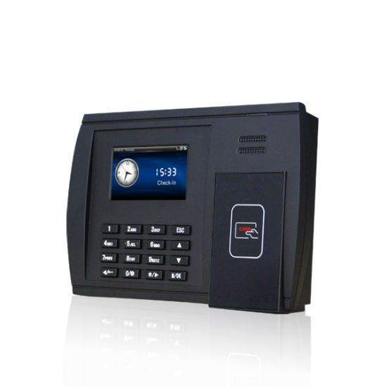 Biometric Punch Card Time Clock with Adms (S550)