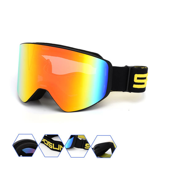 197583c449 TPU Frame Prescription Outdoor Sports Safety Goggle Eye Protection  Snowboard Ski Goggles pictures   photos