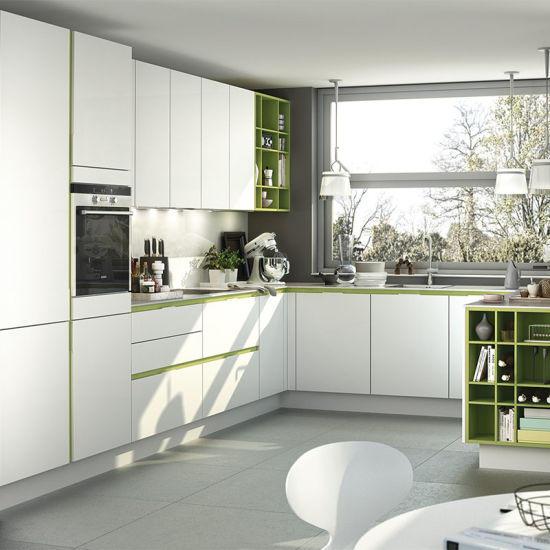 China Modular Latest Kitchen Designs MDF Lacquer Finish Kitchen Beauteous Latest Kitchen Cabinet Designs