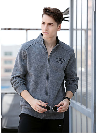 Factory Custom Leisure Outdoor Printed High Quality Sportswear Zipper Hoodies
