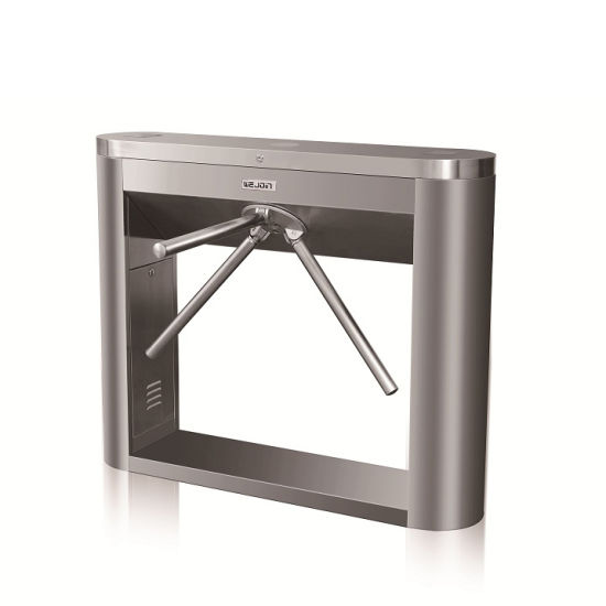 RFID Access Control Tripod Turnstile Gate for Business Building