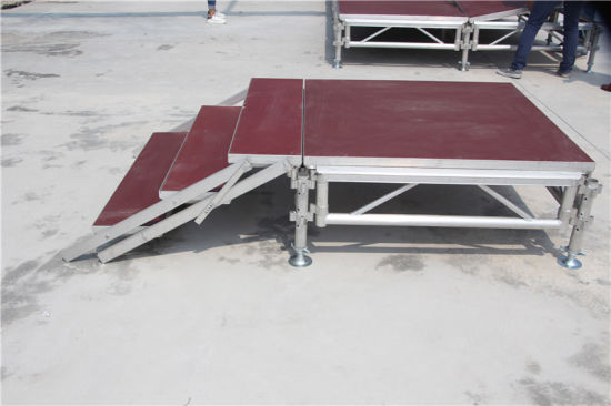 Stage Layout Form Aluminum Multi Level Stage