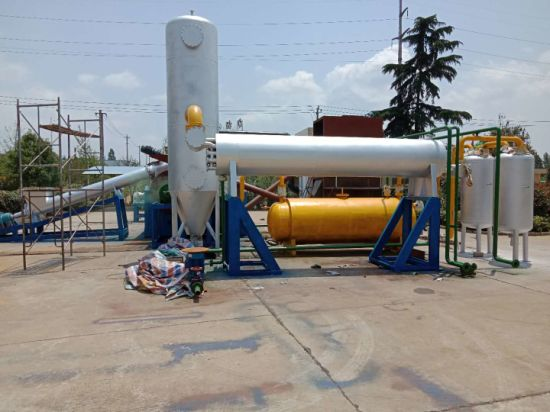 Waste Mixed Plastic to Fuel Continuous Recycling Plant