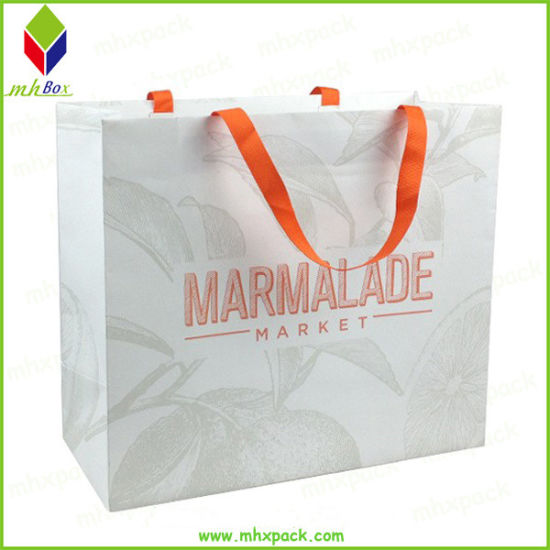 Recycled Paper Shopping Bag Gift Packing Bag