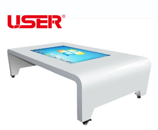 WiFi Ad Display 43 Inch Multi Points Touch Table LED Screen Advertising LCD Touch pictures & photos