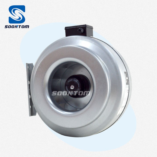 220V/110V Hydroponic Equipment Duct Exhaust Centrifugal Inline Fan