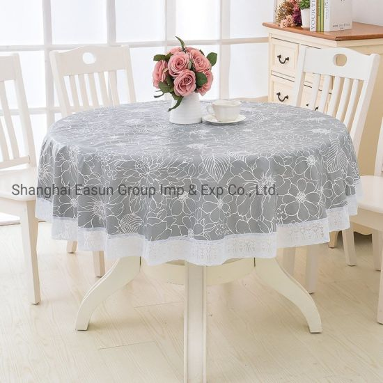 Rosette Table Cloth Cotton Table Cleaning Cloth for Hotel
