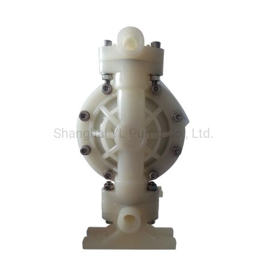 Kynar PVDF Air Driven Diaphragm Pump with Strong Corrosion
