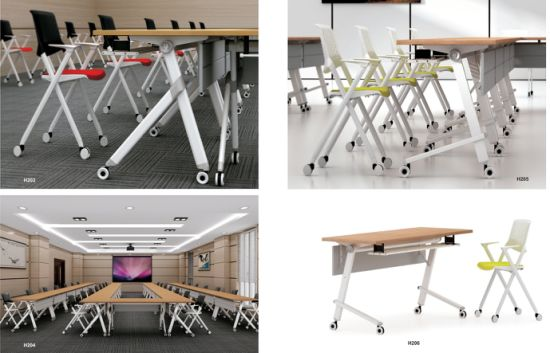 Modular Design Hot Sell Folding Table Furniture Steel Metal Leg pictures & photos