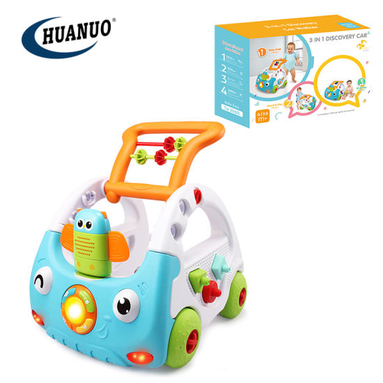 New Multi-Functional Remote Control Baby Toy Musical Stroller Walker