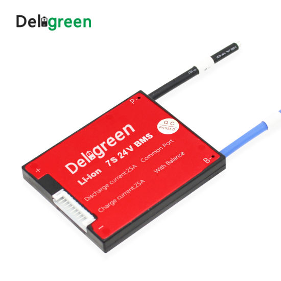 7s 16A 25A 35A 45A 60A BMS Electric Bicycle Accessories for 24V Lithium 18650 Battery Pack for Electric Bicycle