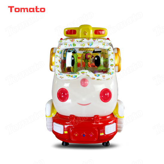 Hello Kitty Police Car Indoor Outdoor Playground Coin Operated Swing Rocking Arcade Video Kiddie Ride Game Machine