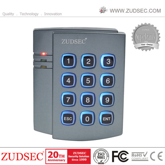 Top Selling Standalone Access Control with Blue Backlight