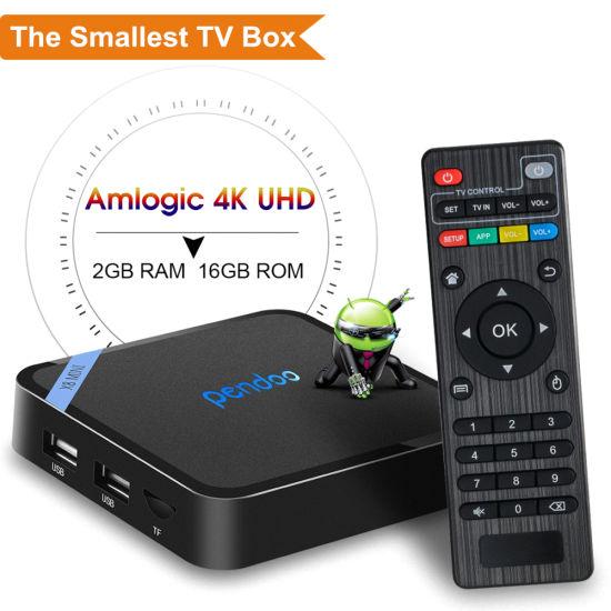 Set Top Box Pendoo X8 Mini S905W Mini Quad Core IPTV Smart Internet Android TV Box